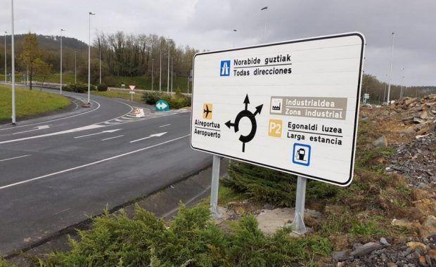 mejora de accesos aeropuerto bilbao
