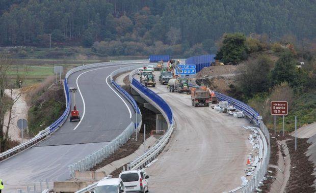 obras autovia a8 asturias